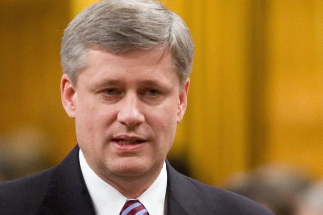 Le premier ministre Stephen Harper.... (Photo: PC)