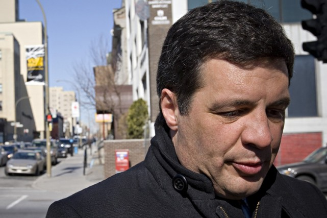 Benoît Labonté... (Photo: Patrick Sanfaçon, La Presse)