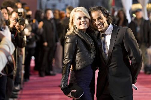 Mitsou et son conjoint Iohann Martin. Mitsou a... (Photo Robert Skinner, La Presse)