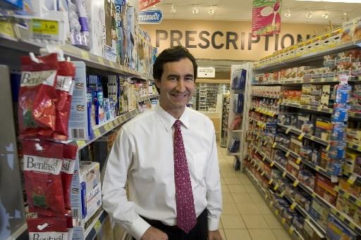 François Jean Coutu, PDG de la chaîne... (Photo: André Pichette, La Presse)