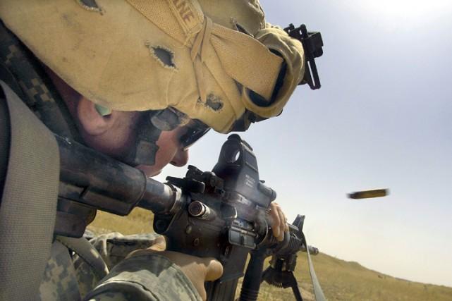 L'armée américaine a annoncé lundi le lancement de son compte officiel Facebook... (Photo: AFP)