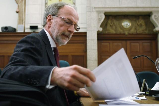 Le président directeur-général de Radio-Canada, Hubert Lacroix... (Photo: PC)
