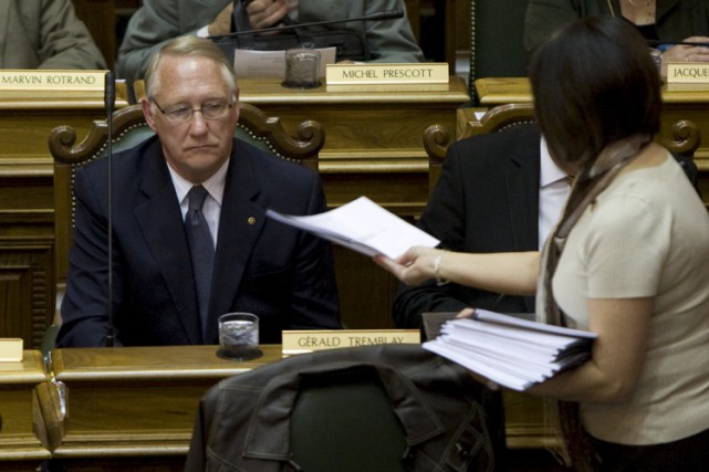 Gérald Tremblay, qui na pas voulu émettre de... (Photo: André Pichette, La Presse)