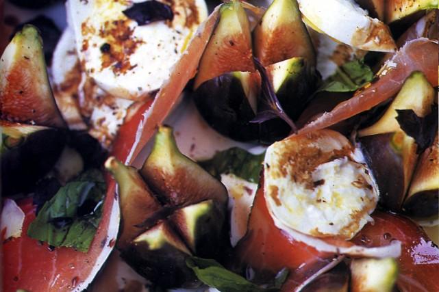 Salade sexy de Jamie Oliver... (Photo tirée du livre Toqué de cuisine)