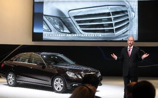 Daimler est connue principalement pour ses voitures de... (Photo: Agence France-Presse)