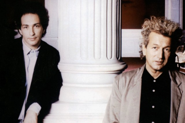 Michel Berger et Luc Plamondon.... (Photo: Radio-Canada)