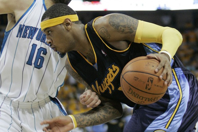 Carmelo Anthony... (Photo: AP)