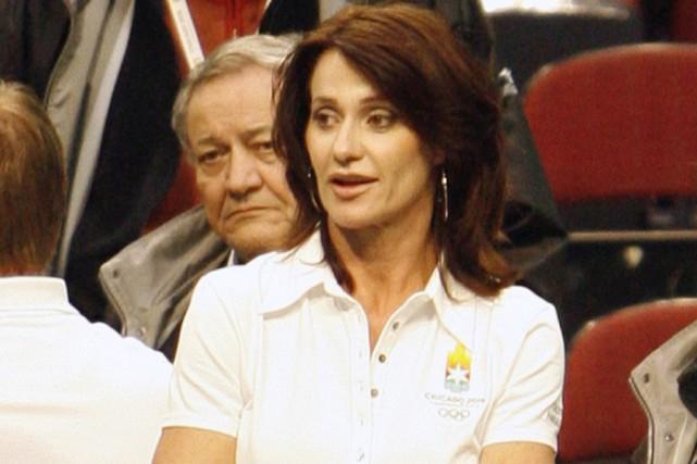 Nadia Comaneci... (Photo: AP)
