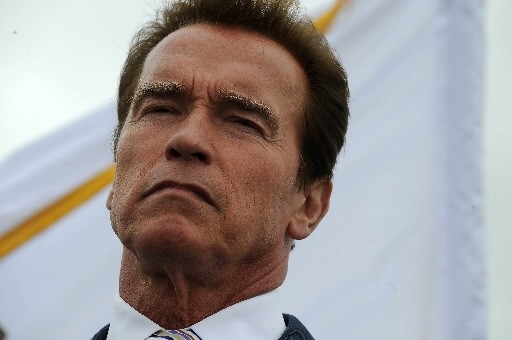 Arnold Schwarzenegger... (Photo: AFP)