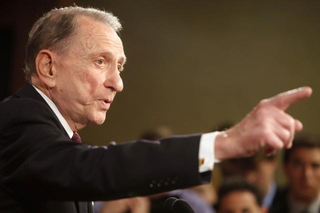 Arlen Spectera annoncé sa décision en conférence de... (Photo: AP)
