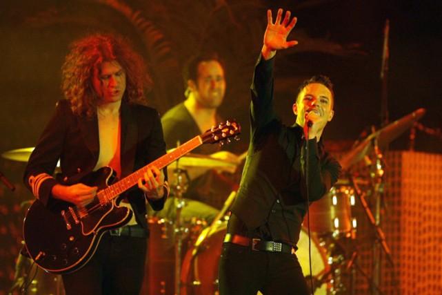 Le groupe The Killers se produira au quai... (Photo: Reuters)