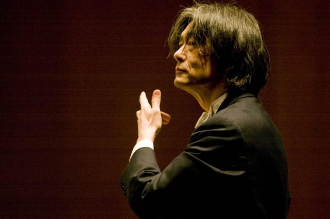 Le chef d'orchestre de l'Orchestre symphonique de Montréal,... (Photo: André Tremblay, La Presse)