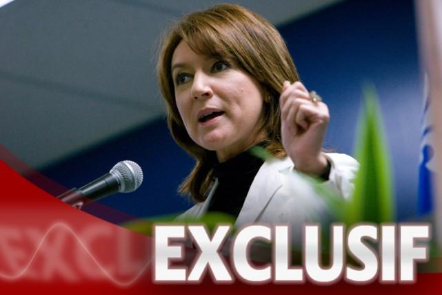 La ministre des Affaires municipales, Nathalie Normandeau.... (Photo: La Presse)