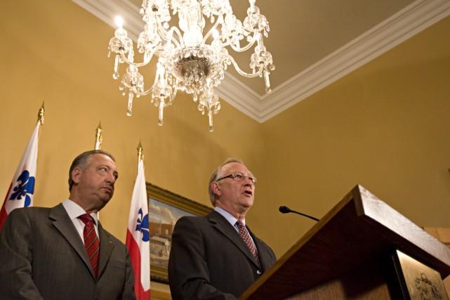 Le maire Gérald Tremblay assure que son équipe va collaborer de façon «assidue... (Photo: Francois Roy, La Presse)