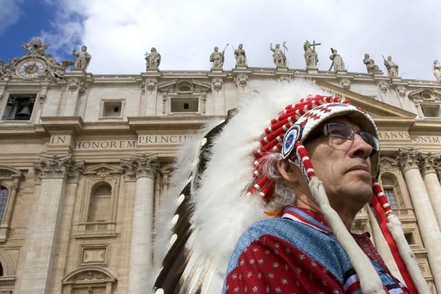 Phil Fontaine, chef national des Premières nations, est... (Photo Reuters)