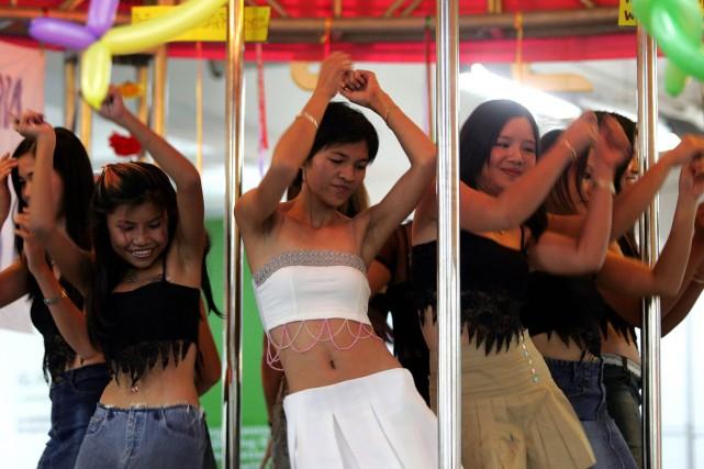 Des travailleuses du sexe thaïlandaises.... (Photo: Archives Reuters)