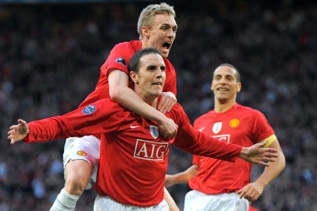 John O'Shea (au centre) a marqué l'unique but... (Photo: AFP)