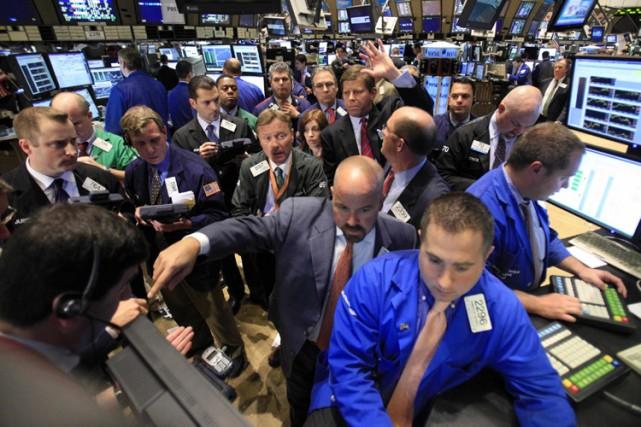 Le Dow Jones a gagné 168,78 points à... (Photo: AP)