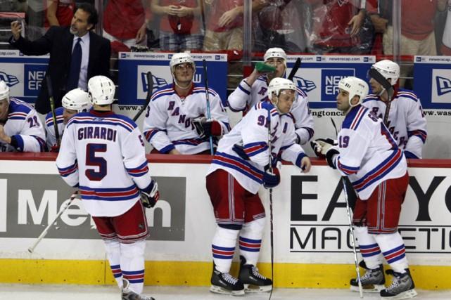 Les Rangers n'ont inscrit que 210 buts cette... (Photo: Reuters)