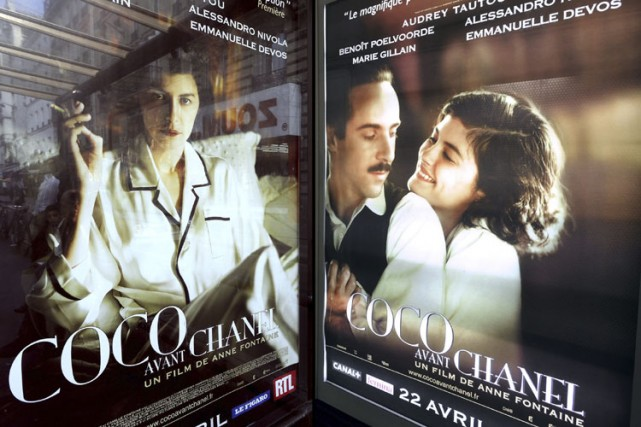 Metrobus a refusé l'affiche montrant la comédienne Audrey... (Photo: Guillaume Clément, AFP)