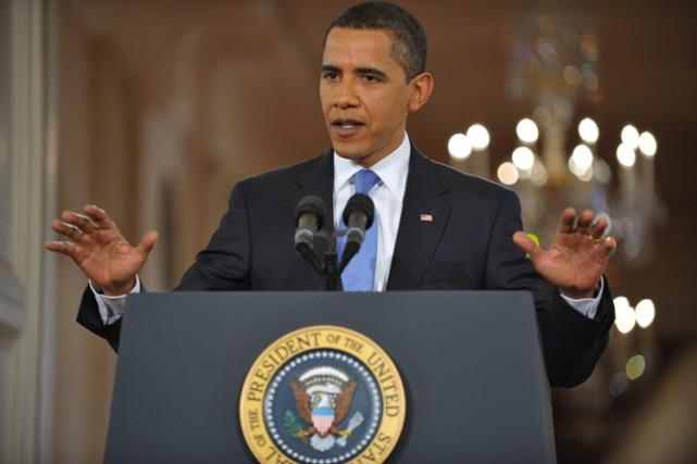 Barack Obama s'est dit «fier, mais pas satisfait», mercredi, du travail... (Photo: AFP)