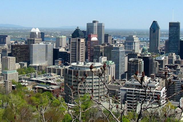 Au premier regard, Montréal est un îlot de paradis quant à l'état de son... (Photo: Archives La Presse)