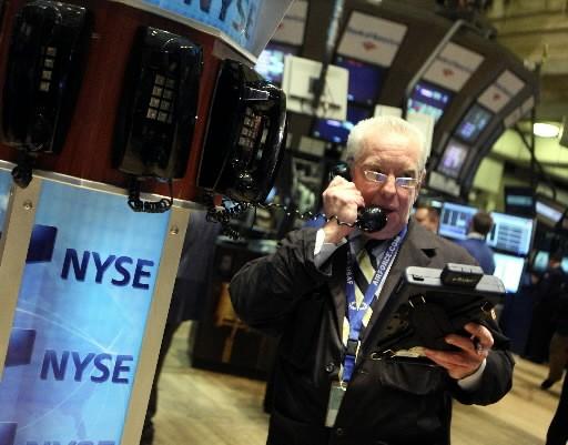 Le groupe boursier transatlantique a annoncé jeudi un profit plus que divisé... (Photo: Reuters)