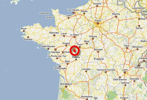 La centrale nucléaire française de Chinon (centre-ouest) a été évacuée jeudi...