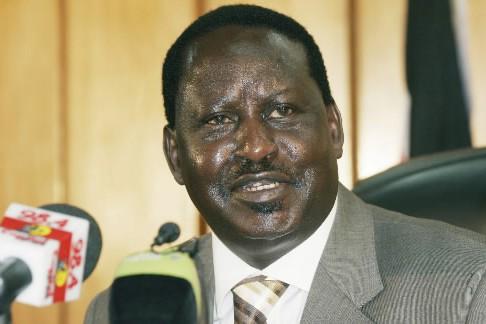 Le premier ministre kényan Raila Odinga... (Photo: archives AP)