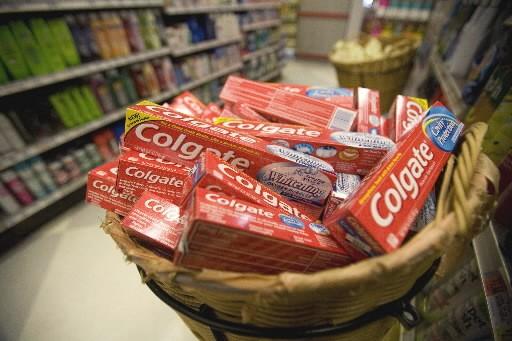 Le producteur américain de produits d'hygiène et de beauté a enregistré une... (Photo: Bloomberg)