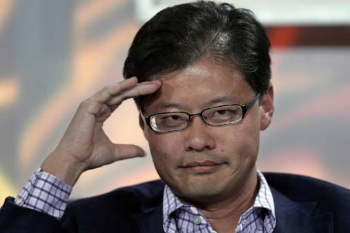 Jerry Lang , cofondateur de Yahoo!... (Photo AP)