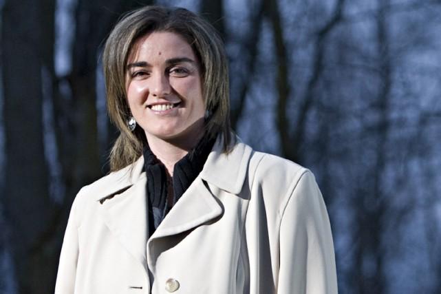 Sophie Dufault... (Photo: François Roy, La Presse)