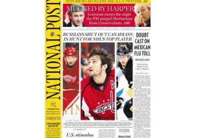 Le National Post abandonne son édition papier du lundi pendant les neuf...