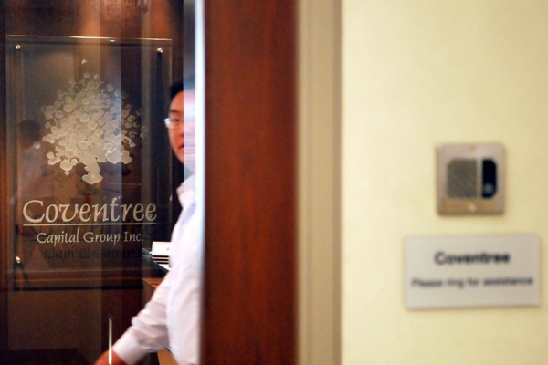 Les bureaux de Coventree à Toronto... (Photo: Bloomberg)