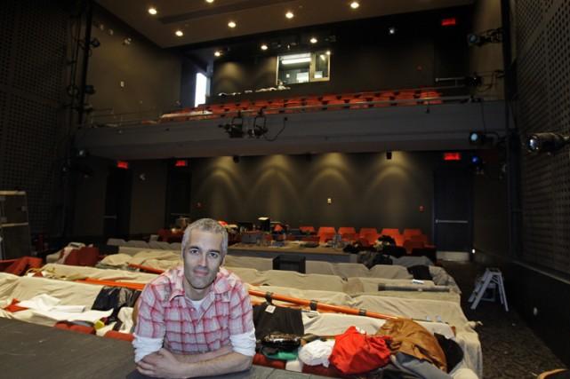 Le directeur artistique du Théâtre de Quat'Sous, Éric... (Photo: Robert Mailloux, La Presse)
