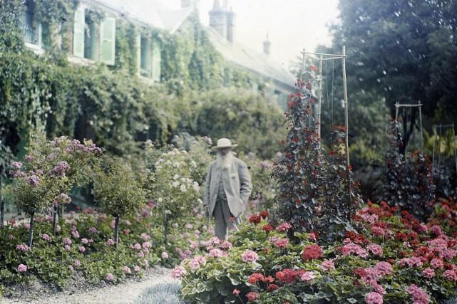 Le jardin de monet expos marie christine blais for Jardin expose nord
