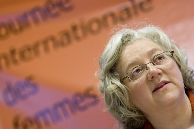 Michèle Asselin... (Photo: David Boily, La Presse)