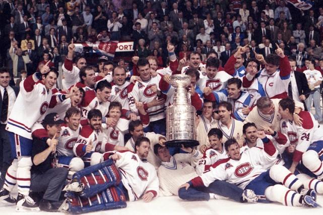 Le Canadien avait un visage très québécois lors... (Photo: Robert Mailloux, archives La Presse)