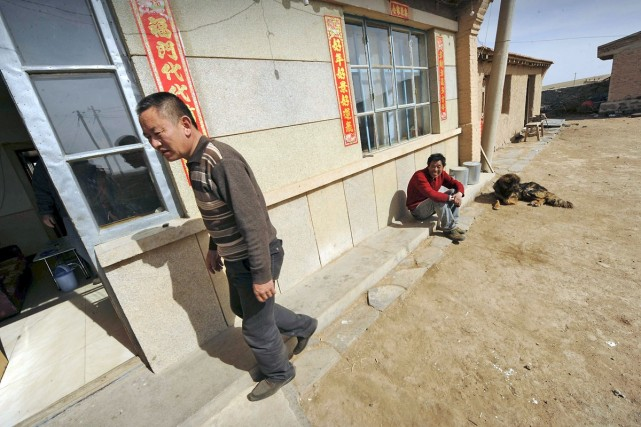 Le mode de vie ancestral de Bayar (notre... (Photo: AFP)