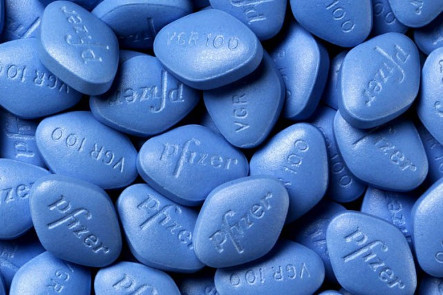 Des pharmaciens d'hôpitaux menacent de cesser la distribution du Viagra  si le... (Photo: Pfizer)