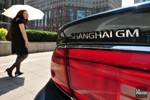 Les trois constructeurs automobiles américains affichaient leur belle forme... (AFP)