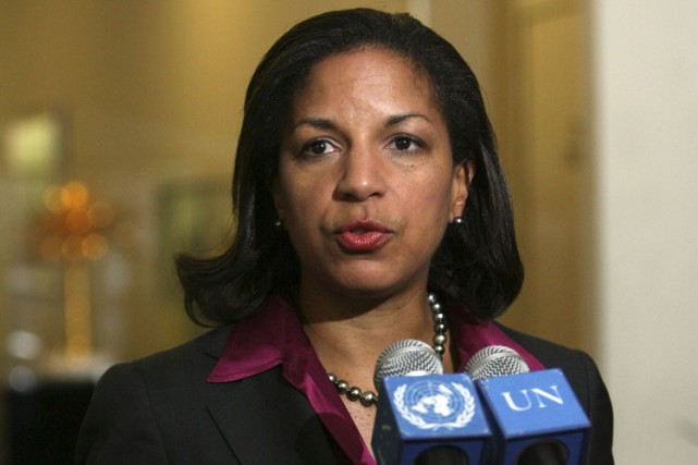 L'ambassadrice des Etats-Unis, Susan Rice.... (Photo: AP)
