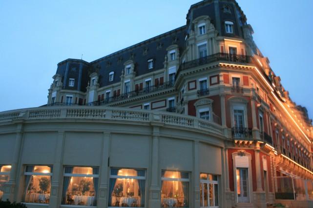 L'Hôtel du Palais de Biarritz.... (Photo: Dali Sanschagrin, collaboration spéciale)