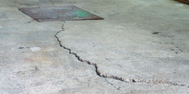 Reparation dalle beton sous sol