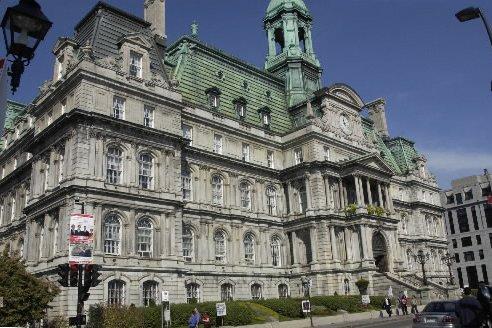 L'hôtel de ville de Montréal... (Photo: Jean Goupil, La Presse)