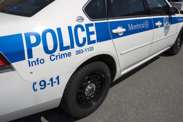 Une manifestation étudiante au Cégep du Vieux-Montréal s'est soldée  par 37... (Archives La Presse)