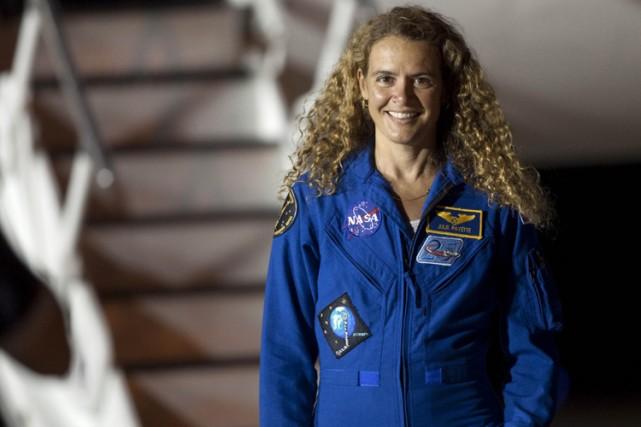 Julie Payette devrait décoller samedi matin, de Floride,... (Photo: Reuters)