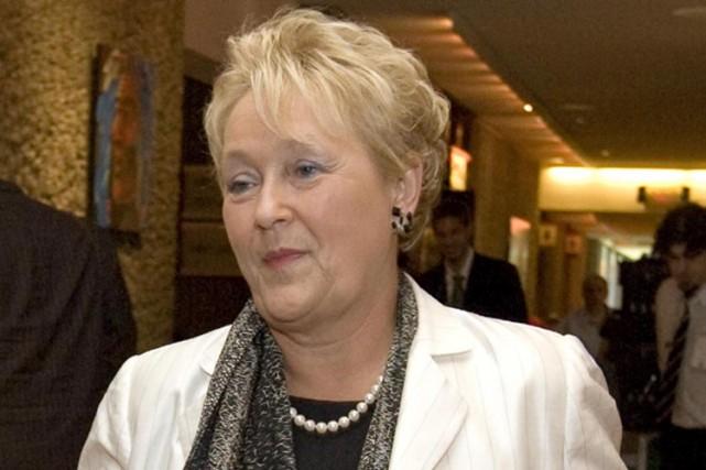 Bien qu'elle ait voté en faveur de la... (Photo: Alain Roberge, La Presse)