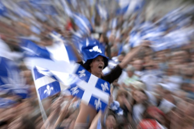 La Fête nationale doit être célébrée en français, affirme l'Association... (Archives La Presse)