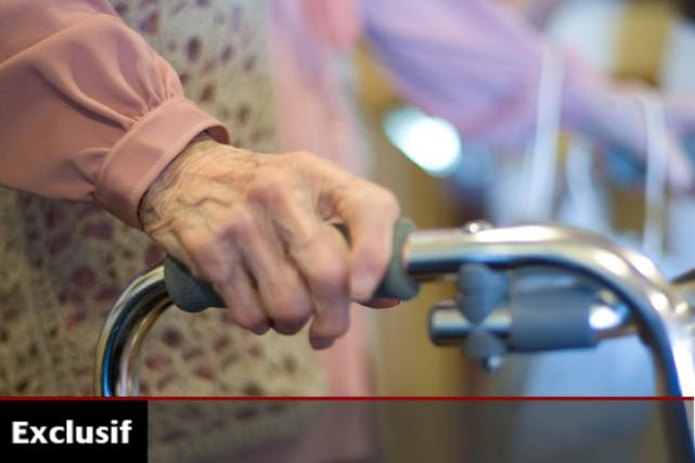 Des centaines de personnes âgées meurent chaque année au Québec parce que la... (Photo: La Presse)